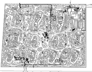 居住用地景观电气施工图(PDF格式)