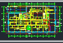 四层酒店项目电气及消防施工图