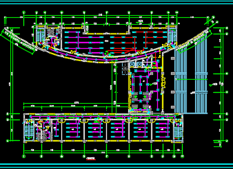 某七层办公楼机电施工图纸