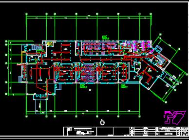 某六层教学楼电气施工图纸