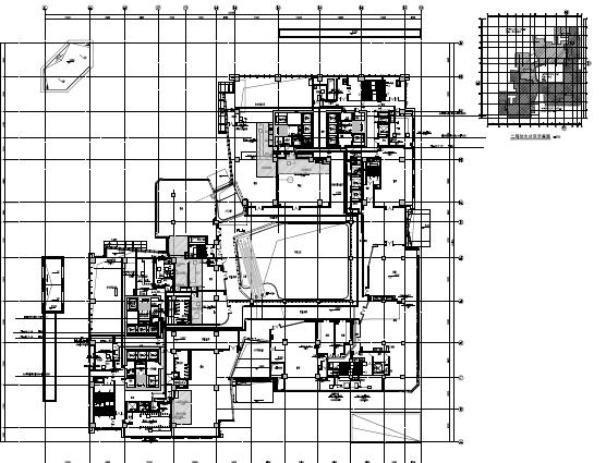 大型商业及办公楼电气施工图纸(含人防)PDF格式