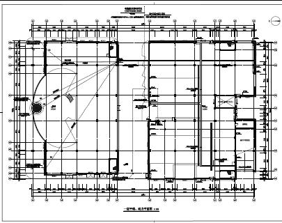 汽车展示与销售维修中心电气施工图纸(PDF格式)