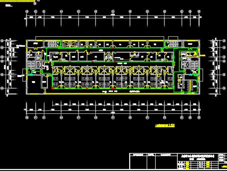 某四层医院迁建项目建筑结构施工图纸