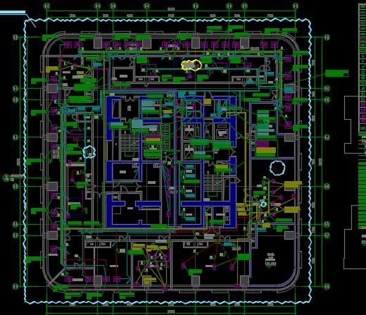 某6星级酒店及公寓电气设计图纸