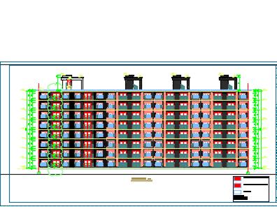 大型商业住宅区全套施工图纸(含建筑结构水电暖)