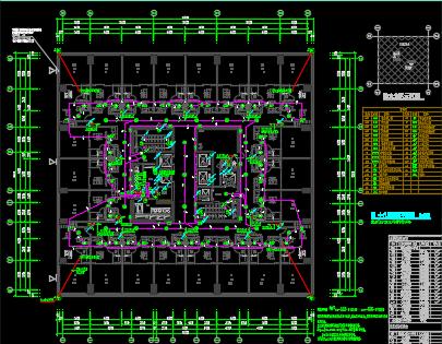 大型商业综合体电气施工图纸