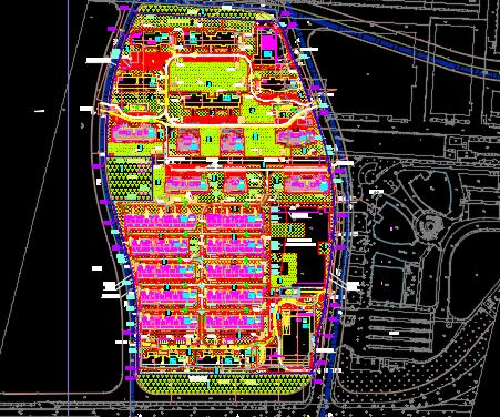 大型商业住宅电气施工图纸