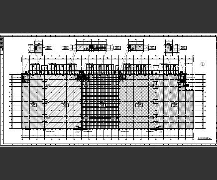 连锁仓储物流园区全套施工图纸(含建筑结构水电暖)