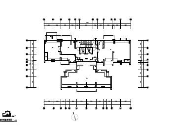 商业住宅项目及配套商业公建电气施工图纸(PDF格式)