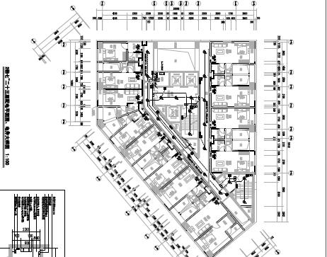 商业住宅楼项目电气施工图纸(含智能化)PDF格式