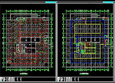 高层商业楼电气改造施工图纸