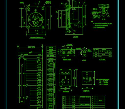 人民防空工程防化战时通风方式信号系统图