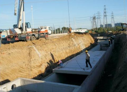 雨水方沟及污水施工组织设计