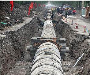 市政给排水管网及其它附属工程施工方案