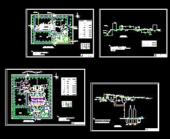 污水厂、净水厂设计