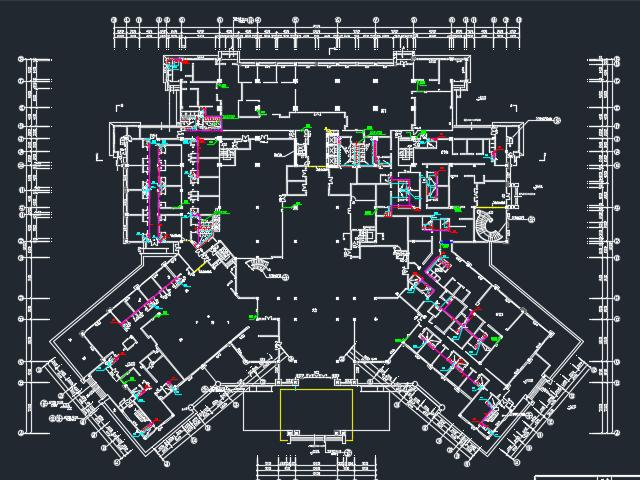 四星级酒店建筑给排水毕业设计(含图纸)