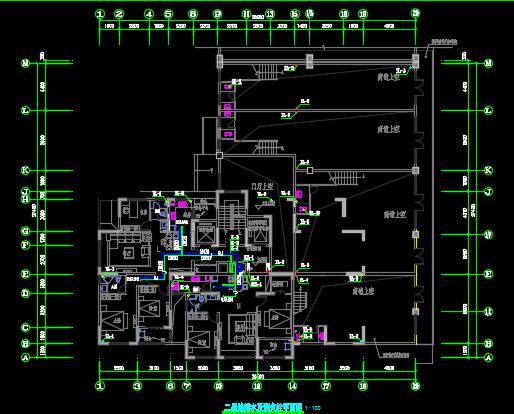 某二十二层住宅楼给排水毕业设计(含图纸)