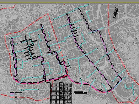 5万吨/天排水管网结业设计(含开题陈诉、盘算书、图纸)
