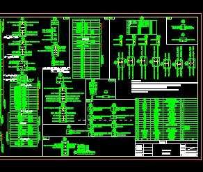 箱式开关站平台一、二次设计图免费下载电气ui学习设计图片