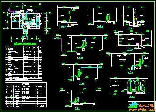 消防水泵房设计图免费下载 - 独立泵房及机房图