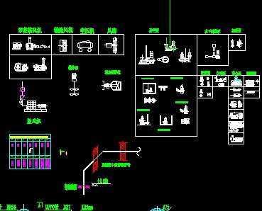 cad各种泵,风机,压滤机图纸