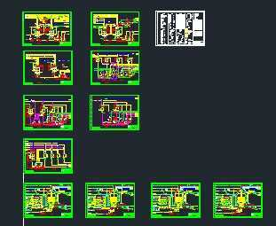 某化工项目主装置工艺区管道仪表系统流程图