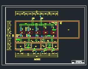 给水泵站设计_某取水泵站给排水工程设计图免费下载 - 独立泵房及机房图 ...