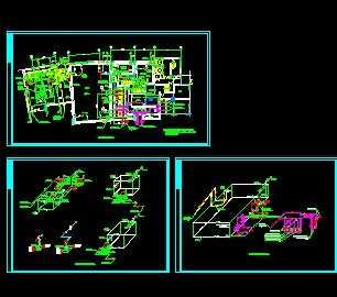 给水泵站设计_给水中水消防泵房水池设计图免费下载 - 独立泵房及机房图 ...