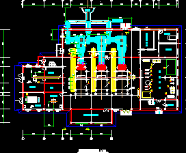 某小区锅炉房工艺设计图