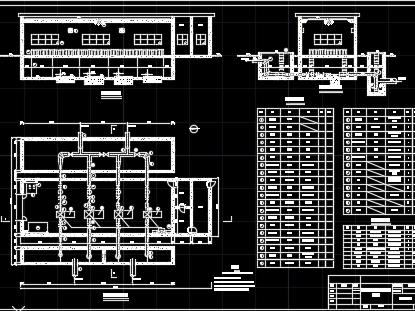 二级泵站设计图纸