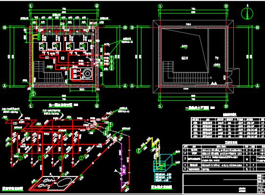 水泵房设计详图