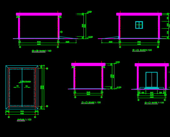 污水处理站中水回用工程泵房工程设计图纸