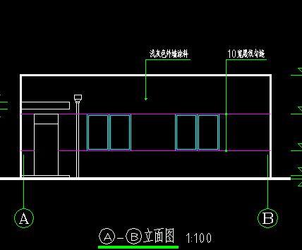 框架结构泵房建筑施工图纸