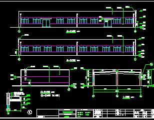 污水处理站建筑施工图纸