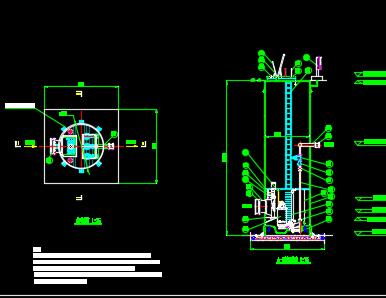 日处理量500吨小型一体化污水泵站施工图纸