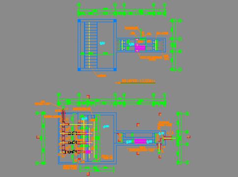 配套提升泵站施工图纸