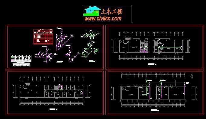 某戊类厂房和仓库平面图