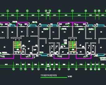 某六层底框结构集资住宅楼给排水系统施工图