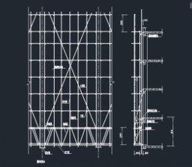 脚手架工程_脚手架工程示意图免费下载 - 多层建筑给排水图 - 土木工程网