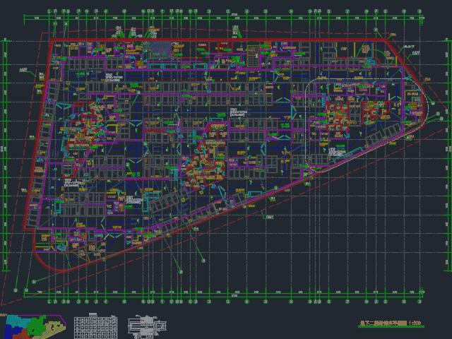 某商业楼给排水施工图