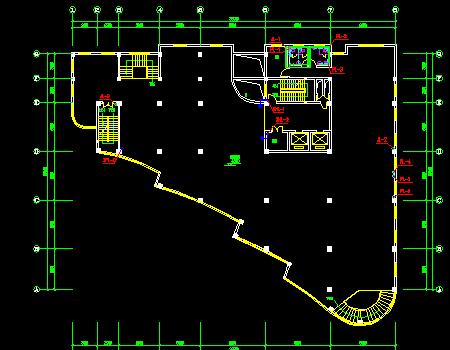 办公楼建筑给排水施工图