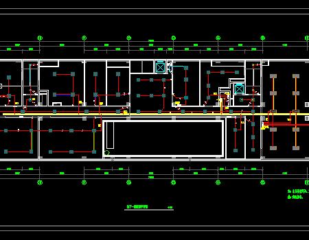 大型办公楼电气施工图