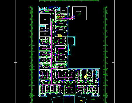 卫生院给排水消防施工图