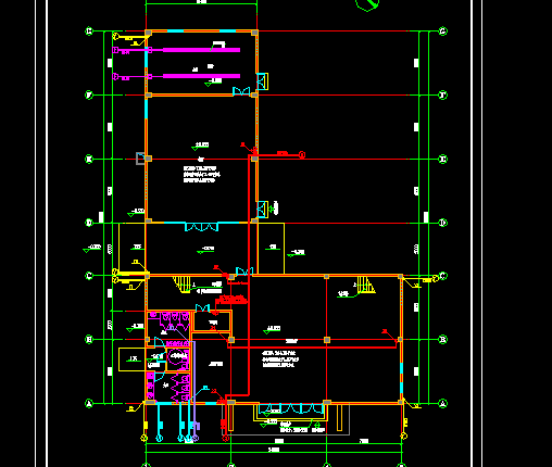 多层综合办公楼给排水设计施工图纸
