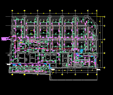 六层酒店附属楼给排水设计施工图纸(含消防)