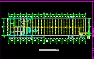 航站楼给排水施工图(含水电暖)