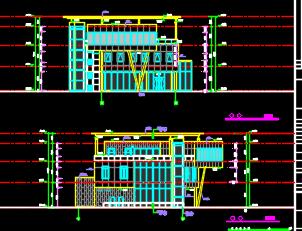 售楼处给排水建筑结构电气施工图