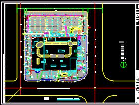 四层综合楼给排水全套施工图