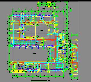 六层教学楼给排水施工图