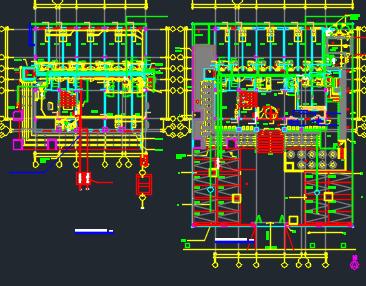 五层建筑给排水管道施工图